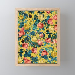 Summer Botanical Garden X Framed Mini Art Print