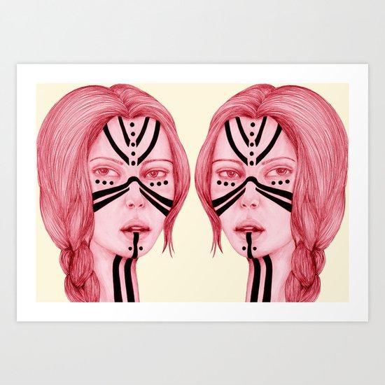 Sisters VII Art Print