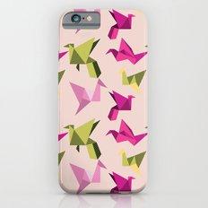 pink paper cranes iPhone 6s Slim Case