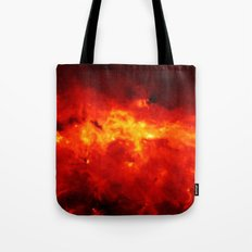 The Painted Space Lava Tote Bag