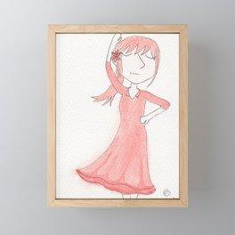 El Duende Framed Mini Art Print