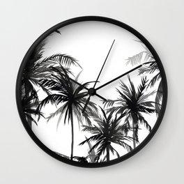 Paradis Noir V Wall Clock