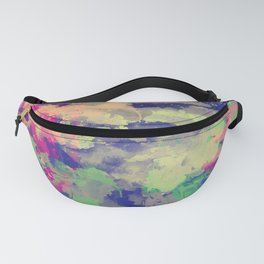 Abstract painting X 0.3 Fanny Pack