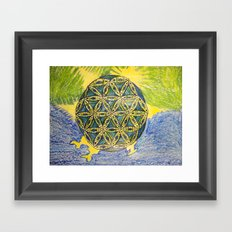 The Force of Nature Framed Art Print