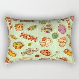 candy and pastries Rectangular Pillow