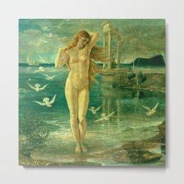 "Walter Crane ""The Renaissance of Venus"" Metal Print"