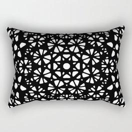 Octagonal mandala Rectangular Pillow
