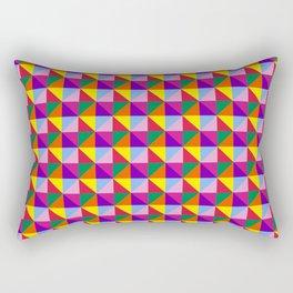 Eight Triangles Rectangular Pillow