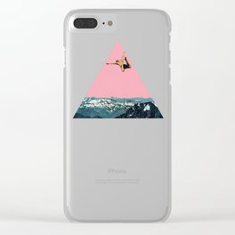 Higher Than Mountains Clear iPhone Case