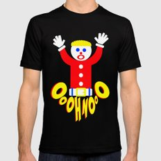 Oh No!     Mr. Bill     Saturday Night Live Black X-LARGE Mens Fitted Tee