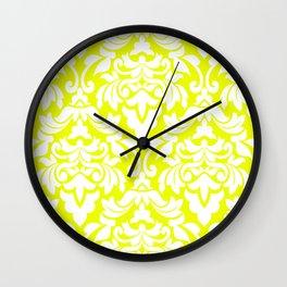 Lemon Fancy Wall Clock