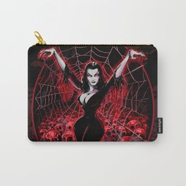Web of Vampira Carry-All Pouch