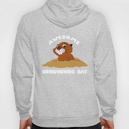 Awesome Groundhog Day - Holiday Celebration Gift Hoody