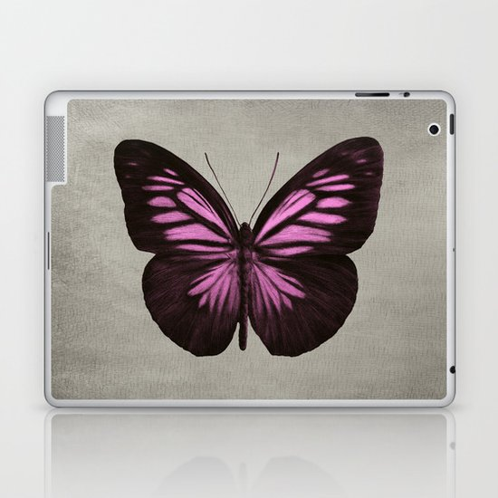 Papillon (Pink) Laptop & iPad Skin