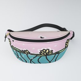 Underwater Lilies Fanny Pack