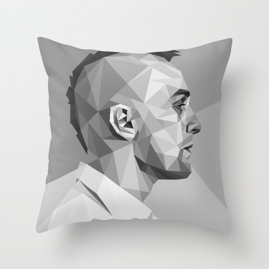 Travis Bickle Throw Pillow
