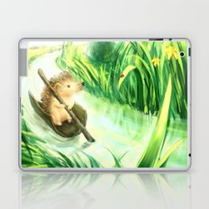 Hedgehog on a journey Laptop & iPad Skin