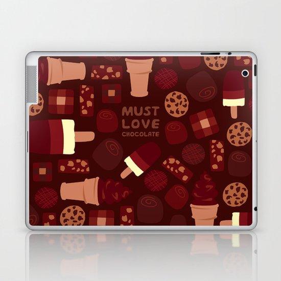 Must Love Chocolate Laptop & iPad Skin
