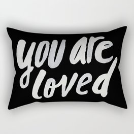 You Are Loved II Rectangular Pillow