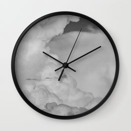 """Cloud Art"" - Desert Monsoon Sky by Murray Bolesta! Wall Clock"