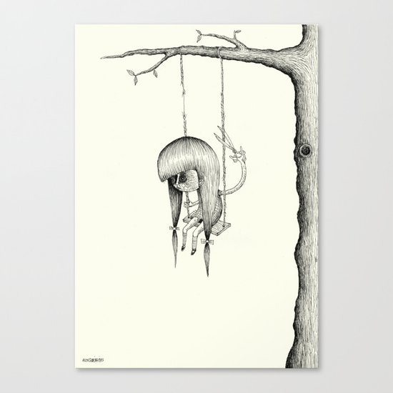 'Swing' Canvas Print