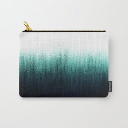 Teal Ombré Carry-All Pouch