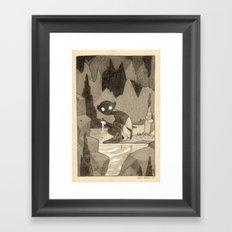 Game of Riddles Framed Art Print