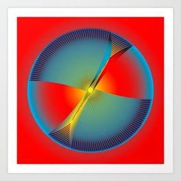 Circle Study No. 104 Art Print