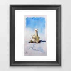 Whitepeace Framed Art Print