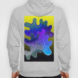 Relaxing Ornamental Spirits. Meditative iFi Art. Stress and Pain Free with MYT3H. Neon. Dreamy. Hoody