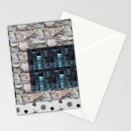 textures for the interior grey blue color Stationery Cards