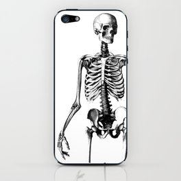 Straight the pose iPhone Skin