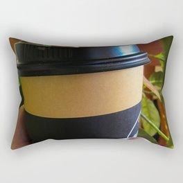 Takeaway Coffee Rectangular Pillow