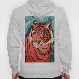 Tiger in the jungle Hoody