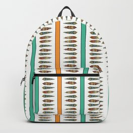 FEATHER STRIPE Backpack
