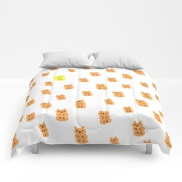 Gummy Bears Orange Flavor Comforters
