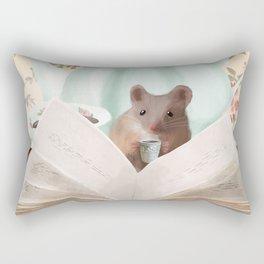 The English Mouse Rectangular Pillow
