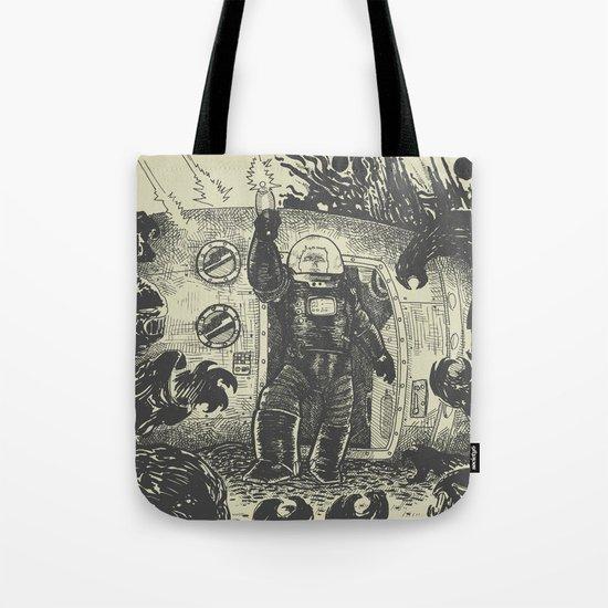 Space slugs die easy Tote Bag