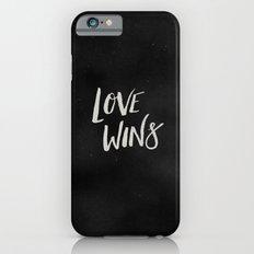 LOVE WINS Slim Case iPhone 6