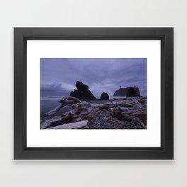 West Coast Washington Framed Art Print