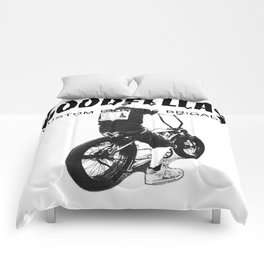 Goodfellas Custom Bicycle Brigade - XXX Logo Comforters