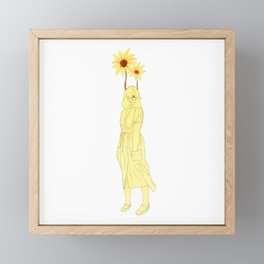 Sunflower (Growth Series) Framed Mini Art Print