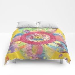 FlowerWaltz03 Comforters