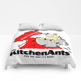 Kitchen Ants Comforters
