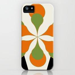 Mid-Century Art 1.4 iPhone Case