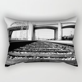 Sixth Street Bridge & Viaduct Rectangular Pillow