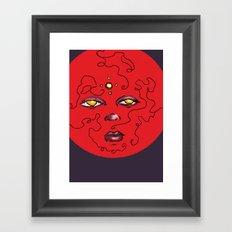 Enlighten Lust Framed Art Print