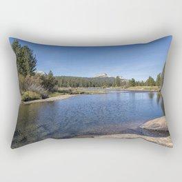 Tuolumne River and Meadows, No. 2 Rectangular Pillow