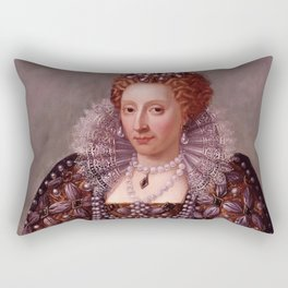 Portrait of Queen Elizabeth I Rectangular Pillow