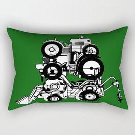 FARM TRACTORS Wheels Rectangular Pillow